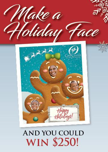 Make a Holiday Face Contest