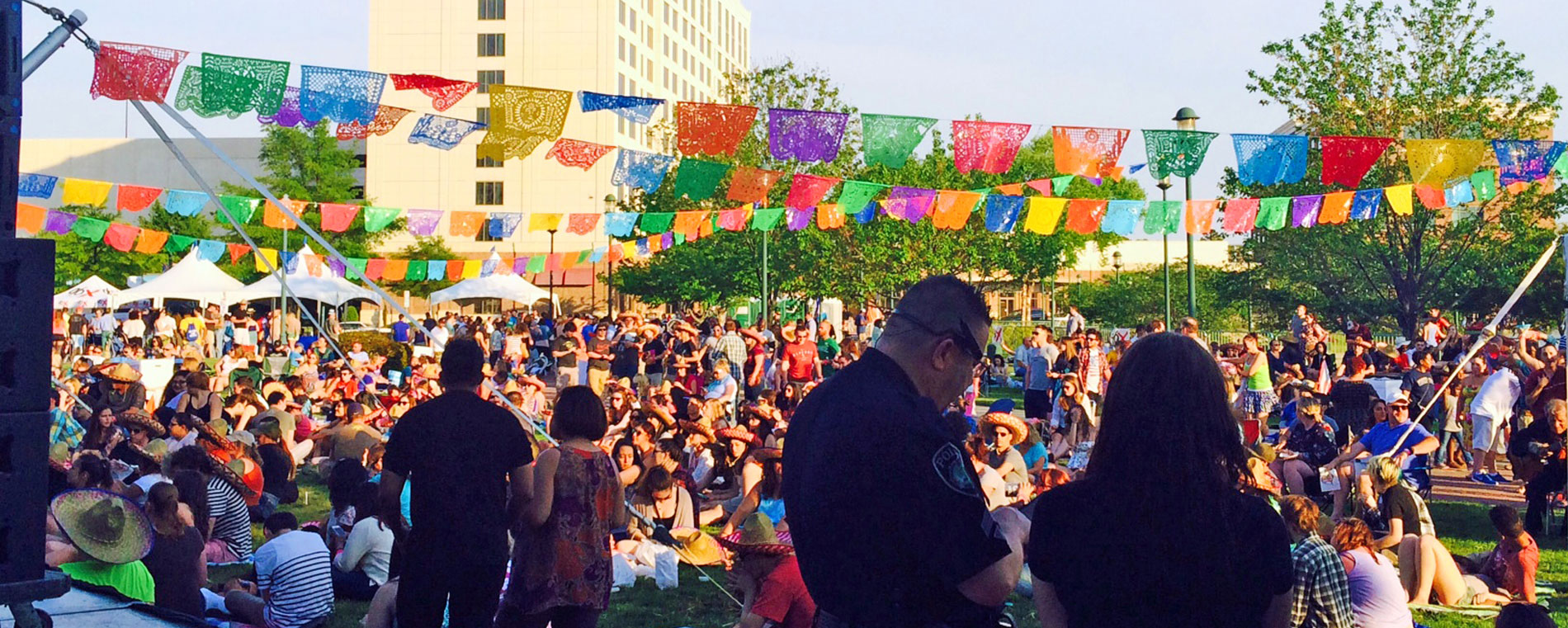 Cinco De Mayo event at City Center