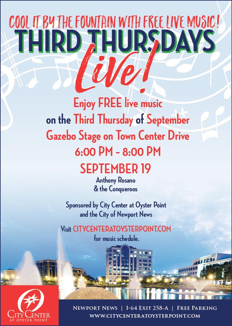 Events - City Center at Oyster Point, Newport News, Virginia